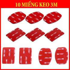 10 Miếng Keo 3M Vuông – Bầu