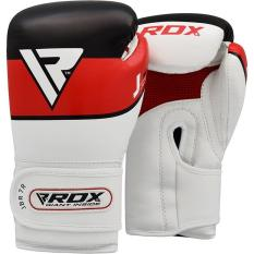 Găng tay boxing RDX BOXING GLOVES JUNIOR JBR-7 BLUE-6oz