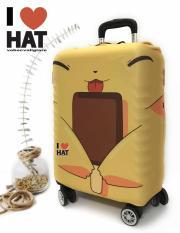 Vỏ bọc vali, áo bọc vali, túi bọc vali Pikachu size S-M-L