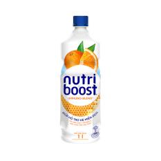 [Siêu thị VinMart] – Sữa trái cây Nutri Boost hương cam chai 1 lít