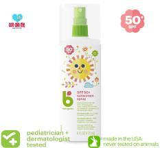 [Date 2021 – Made in USA] Kem & Xịt chống nắng Mineral Base Babyganics SPF 50+ 177ml