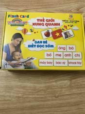 thẻ học thông minh cho bé loại to khổ a5