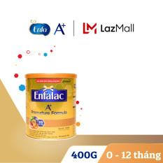 [FREESHIP] Sữa bột cho trẻ sinh non nhẹ cân Enfalac A+ Premature 400g – Cam kết HSD còn ít nhất 10 tháng – Cung cấp hàm lượng và chất lượng protein phù hợp cho trẻ rất nhẹ cân