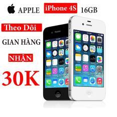 Điện thoại Apple iPhone 4s – 16GB – Bản quốc tế – Full phụ kiện – Bảo hành 3 tháng – Đổi trả miễn phí tại nhà – Yên tâm mua sắm với Mr Cầu ( Điện thoại giá rẻ, điện thoại smartphone )