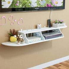 Kệ tivi đơn giản 100cm treo tường giá rẻ cho phòng khách bằng gỗ nhựa | Nội Thất Trong Hẻm
