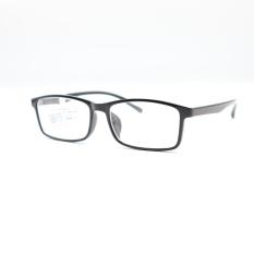 Kính cận thời trang Wide Vision 6014 từ -0.50 đến – 8.00 độ màu đen bóng- kính đã có độ