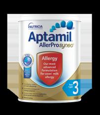 Sữa Aptamil AllerPro Syneo số 3 900G (dành cho bé dị ứng đạm sữa bò)