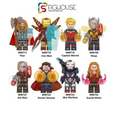 Đồ Chơi Lắp Ráp Non-lego Minifigures Các Nhân Vật Siêu Anh Hùng Marvel WM6063 [C21]
