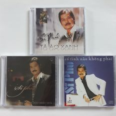 Bộ 3 đĩa cd Sĩ Phú Mitsubishi phono