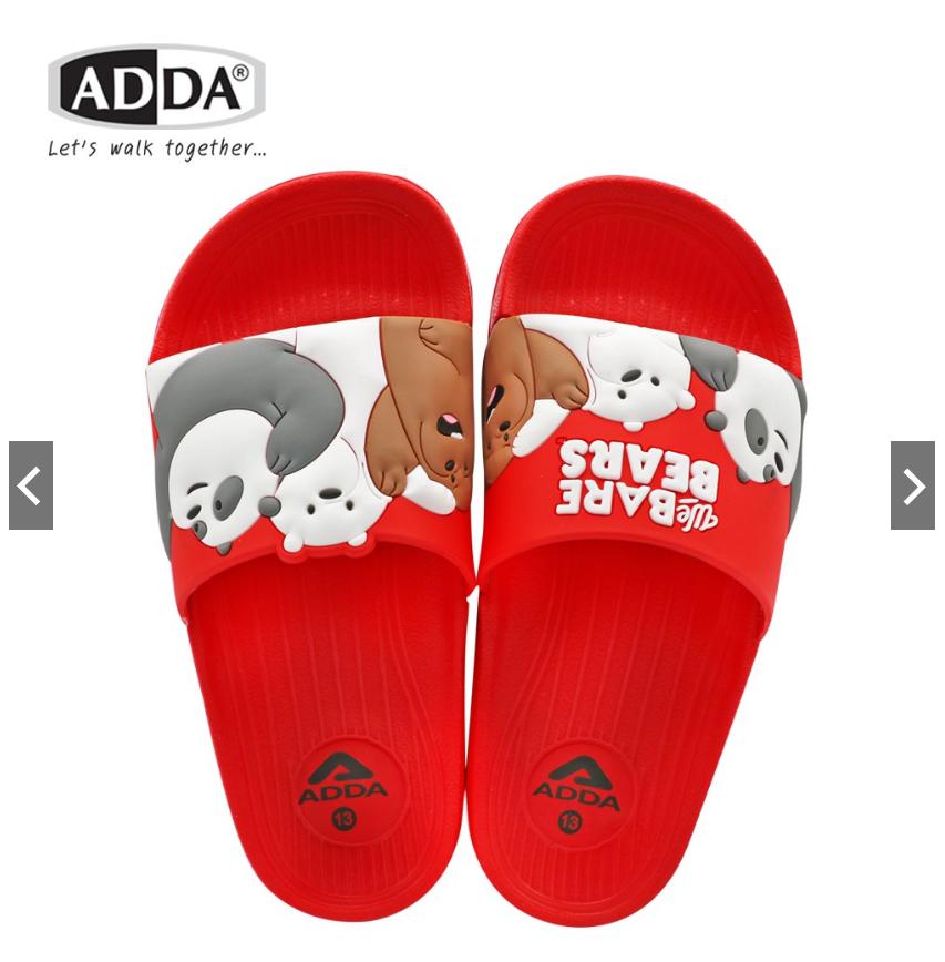 Dép Bé Gái ADDA Thái Lan Hình Gấu Chính Hãng – Đỏ