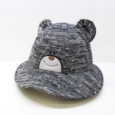 Nón bé trai tai gấu Duy Ngọc size 50 cho bé từ 2 đến 4 tuổi