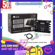 Card sound hát karaoke cắm ngoài XOX K10