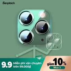 [Siêu Sale][Hàng Quốc tế] Miếng dán Kính cường lực trong suốt bảo vệ toàn diện Sanptoch cho camera iPhone 11 Pro XS Max iPhone11