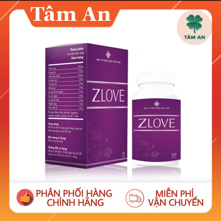 [Combo 2 Zlove tặng viên uống trắng da] Se khít và tăng cường sinh lý từ thảo dược