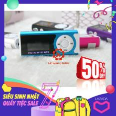 Máy nghe nhạc MP3 LCD dài màu ngẫu nhiên (kèm tai nghe)