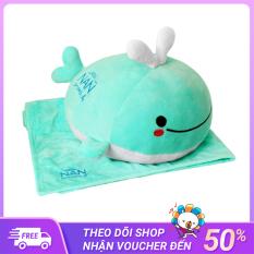 Bộ mền gối cá voi cho bé- quà từ Nan