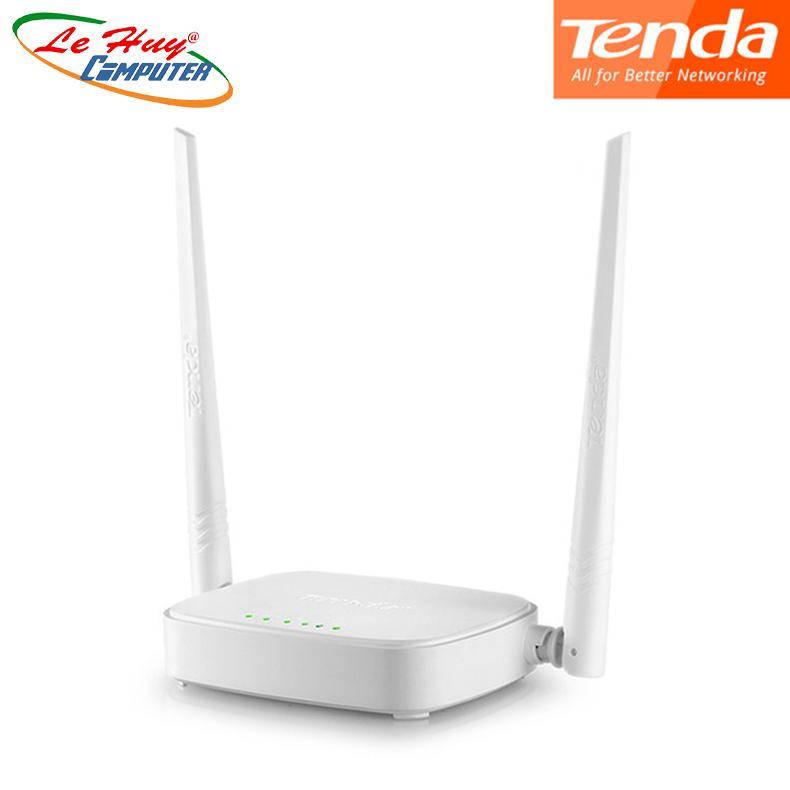 [Nhập ELJAN12 giảm 10%, tối đa 200k, đơn từ 99k]Thiết bị phát sóng WIFI 2 anten tốc độ 300M TENDA...