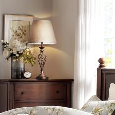 Đèn bàn – đèn cây- đèn ngủ hiện đại sang trọng có công tắc nút nhấn thông minh decor trang trí không gian sống của gia đình bạn DH-DH0007