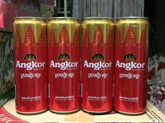 Giá Dùng Thử 4 Lon Bia Angkor Loại Lớn 375 Ml