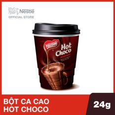 Ly bột ca cao Nestle Hot Choco 24g