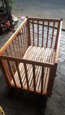 Cũi gỗ cho bé kt 100×80 cm