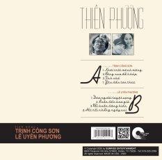 Đĩa than ca sĩ Thiên Phượng hát nhạc Trịnh Công Sơn và Lê Uyên Phương Vinyl