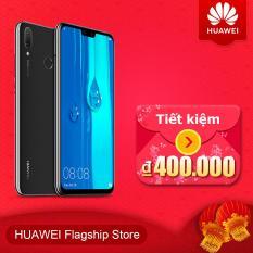 "Điện thoại di động Huawei Y9 2019 4GB 64GB 6.5"" FHD Kirin 710 4 AI Cameras 16MP Fingerprint ID Android 8.1 4000mAh"