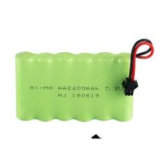 Pin Sạc Xe Điều Khiển Từ Xa – Pin 7.2V 2400mAh