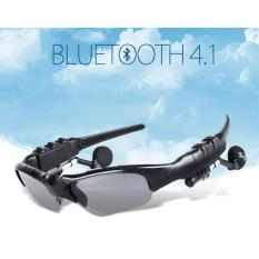 Mắt kính Bluetooth Sport Grown Tech V4.1 AT120 (Đen)