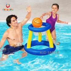 Đồ chơi trẻ em mùa hè bóng rổ phao INTEX chơi dưới nước (gồm cả rổ cả bóng) giúp trẻ phát triển thể lực và vui chơi thư giãn