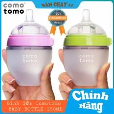 Bình sữa comotomo 150ml Xanh/Hồng