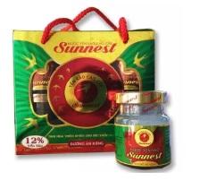 Hộp yến sào Sunnest đường ăn kiêng 12% yến 6 lọ x 70ml
