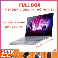 [FULL BOX] Asus Zenbook 14 Q407IQ, Siêu Phẩm Đồ Họa Màn Tràn Viền, Ryzen R5-4500U, RAM 8G, SSD 256G Nvme, VGA NVIDIA MX350-2G, Màn 14 Full HD IPS, Laptop Dell
