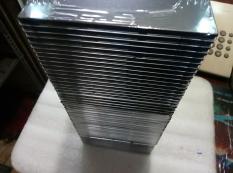 Hộp đựng đĩa mika đen trong – Lốc 50 hộp