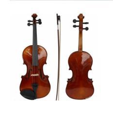 Đàn Violin Gỗ 4/4 Màu Trắng Trơn Full Phụ Kiện