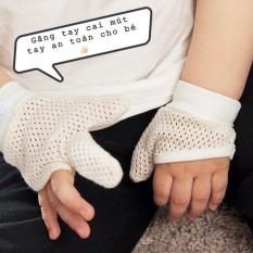 Găng tay cai mút tay an toàn cho Bé