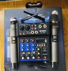 [ DEAL HOT ] Mua Trọn Bộ Mixer Yamaha G4 Bluetooth Live Stream Face-book , youtube , Bigo…Karaoke Gia Đình , Loa Kéo , Và Các Loại Loa Khác , Màn Hình LED , Hỗ Trợ 2 Cổng Mic (Tặng Kèm 2 Micro Không Dây ) BH 12 Tháng