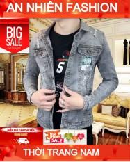 áo khoác jean nam chất bò win268 MẪU MỚI 2021 M59 năng động cao cấp thiết kế đơn giản trẻ trung cá tính thời trang An Nhiên Store an251