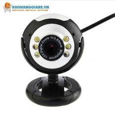 Webcam máy tính, webcam máy tính có mic dùng cho máy tính để bàn, laptop, máy tính bảng hình ảnh rõ nét, âm thanh rõ ràng