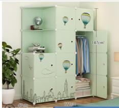 tủ quần áo nhiều ngăn chất lượng cao mẫu mã đẹp 003