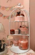 Kệ đựng mỹ phẩm trang trí RIBO HOUSE nhiều tầng đa năng có thể để bánh kẹo kệ lồng chim nước hoa decor phòng khách phòng ngủ nhiều màu RIBO128