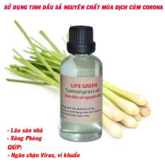 [HCM]Tinh dầu xả 30ML nguyên chất tác dụng đuổi côn trùngdiệt vi khuẩnhổ trợ làm đẹp và chăm sóc sức khoẻ