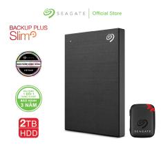 Ổ cứng di động Seagate Backup Plus Slim 2TB USB 3.0 + Tặng kèm Túi chống sốc Từ 05/05 đến 15/05