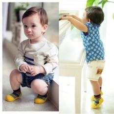Giày tập đi Attipas Rainbow Yellow AR05 dành cho bé, Hàn Quốc (Yellow)
