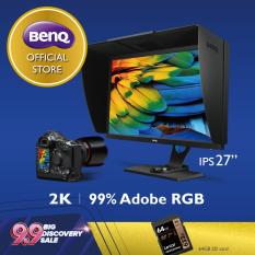 Màn hình máy tính đồ họa BenQ SW2700PT 27 inch QHD IPS Adobe RGB cho nhiếp ảnh gia xử lý hình ảnh