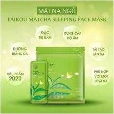 [ Combo 3 bịch ]Mặt Nạ Trà Xanh Matcha Mud Mask Laikou Bịch 15 Miếng