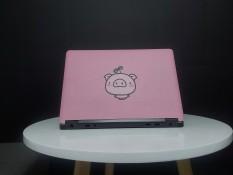 Miếng dán laptop BEE SHOP mẫu CUTE PIG 1 cho Macbook/HP/ Acer/ Dell /ASUS