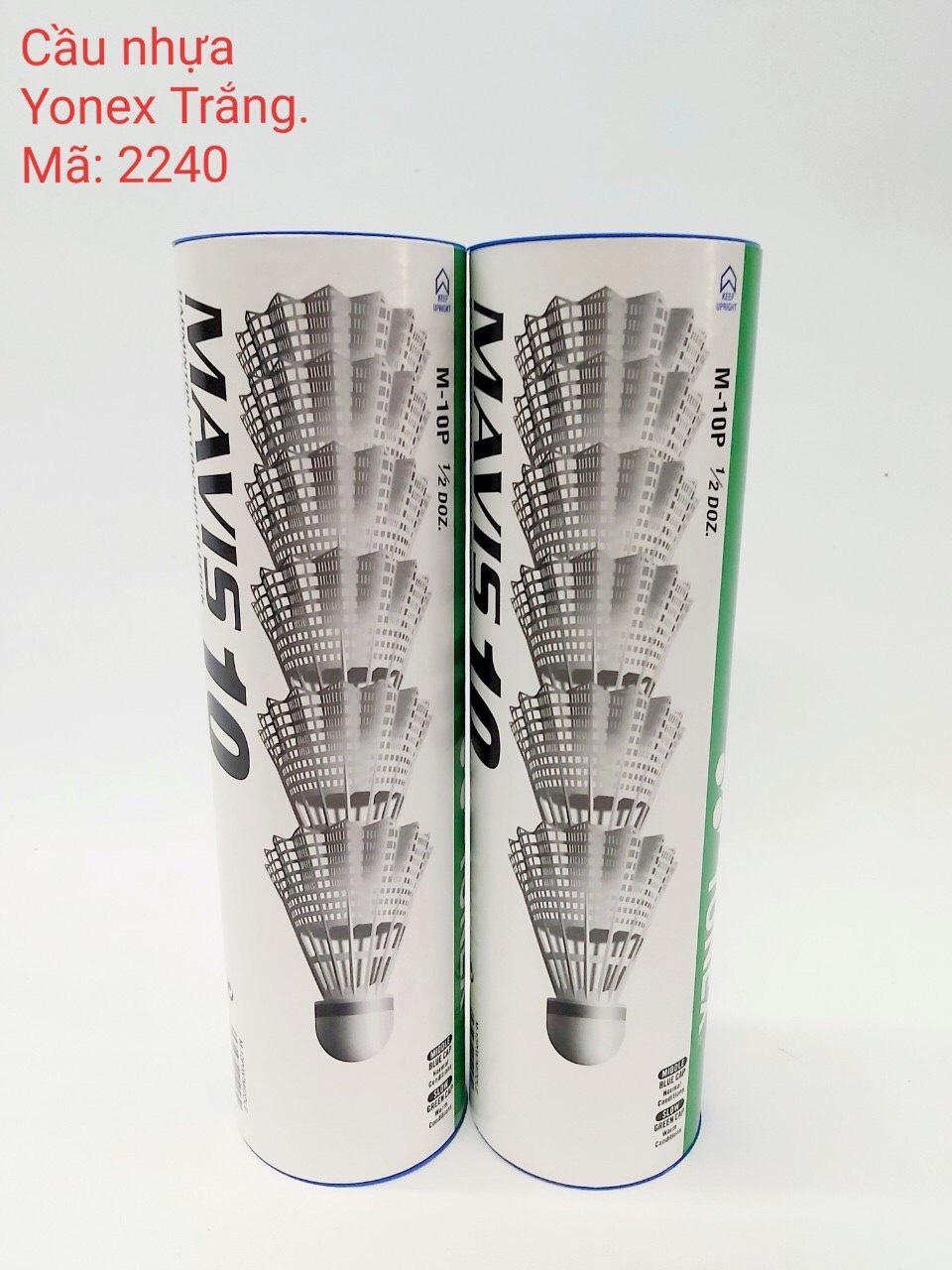 Quả cầu lông nhựa - Chính hãng Yonex- Ống cầu lông nhựa Yonex Mavis 10 (6 quả và lẻ 1...