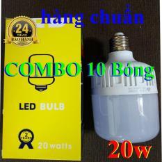 COMBO 10 Đèn Led búp trụ 20W – đèn búp trụ 20w – đèn led 20w