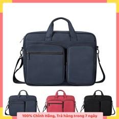 Túi chống sốc Laptop Macbook cao cấp 13,3 14 15,6 inch DJ02 II Bảo Hành 1 Năm II Đựng Bao Da Nam Nữ II 2020 I